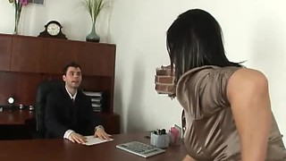 Lucky Assistant Has Incredible Sex With His Smoking Hot Boss