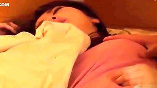 Sweet Girl Sleep Over