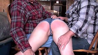 bbw punished by her daddy