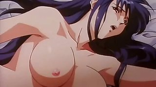 Hentai chick takes huge cock up her pussy