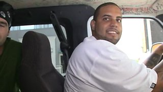 bitch rides cock in a bang bus clip film 1