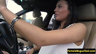 gorgeous cabbie with bigtits banged by client