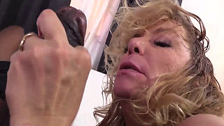 Cougar Karen Summer and Joyce this black cock