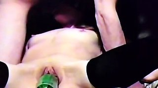 homemade amateur blindfolded slut squash insertion bj