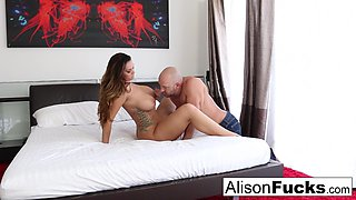 Alison Tyler in Curvy Alison Takes Some Good Dick In Her Bedroom - AlisonTyler