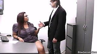 he cheated with the secretary of ebony fat