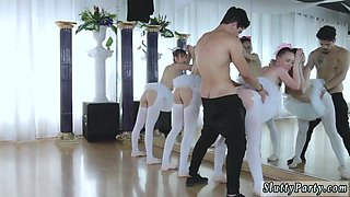Skinny russian teen anal Ballerinas