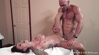 Monique Alexander yearns to be penetrated by a stallion
