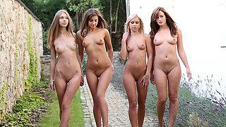 Maria, Abby, Lola, Tess - Quartet