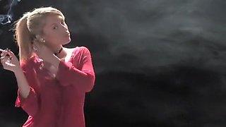 Crazy homemade Blonde, Fetish adult movie