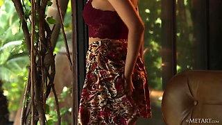 Beautiful American lady Eden Addams