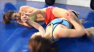 Collage girls wrestling