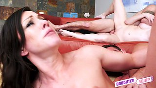 All sweaty slut Jenna Ross gets pounded quite good by swinger dude