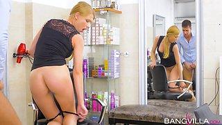 Lucy Heart In Salon Seduction