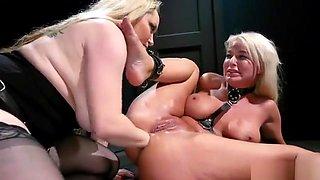 Busty mistress anal fist blonde Milf
