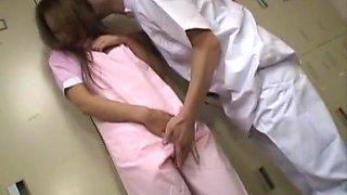 Exotic Japanese slut Rika Ayane in Amazing Nurse, Changing Room JAV movie