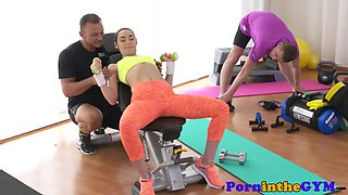 lean athletic beauty pussylicked and drilled