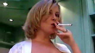 Fabulous amateur Smoking, Wife porn clip