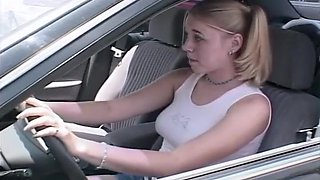 Teen Eagerly Earns Her Drivers License