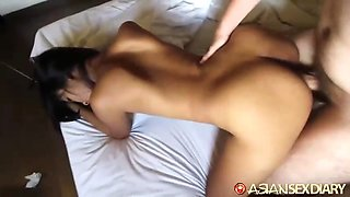 asian sex diary - filipina cutie unsure what she's in for