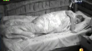 Big Brother contestant flicks her clit quietly in bed