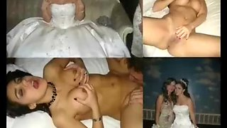 Here cums the bride 3