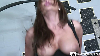 MILF knows how to handle his cock
