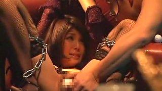 Hottest Japanese chick Azumi Harusaki in Amazing BDSM, Lingerie JAV movie