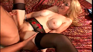 Robin Pachino - Mature Delays a Guy Taking Off to a Party