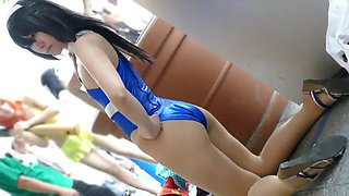 Japanese cosplayer