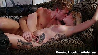 Amazing pornstars Nicole Malice, Michael Vegas in Crazy Blonde, Big Tits porn video