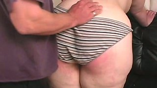 Her Big Butt Gets Red With BDSM Discipline In her Kitchen