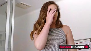 Teenage honey gets fucked when she comes over to her new boss place