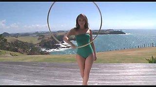 Hula hoop exercise