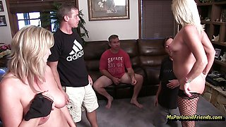 Horny Stripper at the Birthday Party with Ms Paris Rose