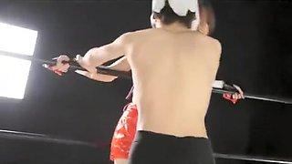 Rumble Roses Reiko Hinomoto Makato Aihara Lesbian Sex Wrestling