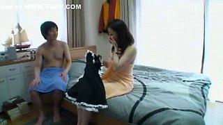 Best Japanese slut in Horny Maid JAV movie