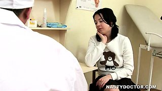 Mature Gyno Doctor Inserting Dick in Pussy