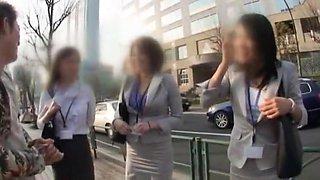 Crazy Japanese whore Hitomi Asakura, Saki Kataoka, Imai Natsumi in Exotic JAV clip
