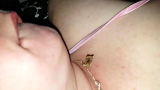 pussy and ass fucked with toy