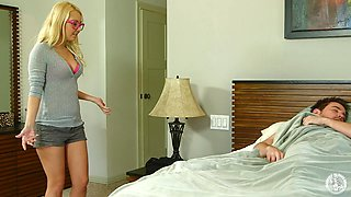 Slutty Mom Shoves A Cock In Her Mouth