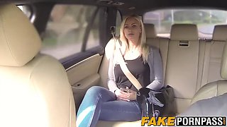 Hot and perfect tits blonde Nathaly railed deeply outdoor