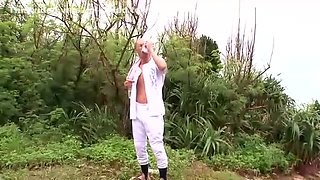 Amazing Japanese girl Rio Hamasaki in Crazy Outdoor, Handjobs JAV video