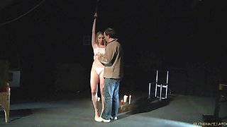 BDSM Teen Punished tied up in bondage Sex and kinky spank