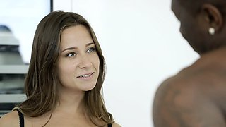 BLACKED My Girlfriends Hot Sister Cassidy Klein Loves BBC