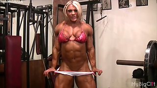 Lisa cross in the gym