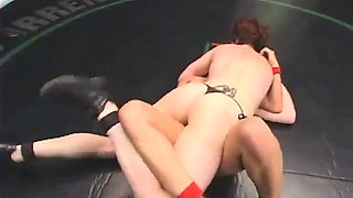 wrestling & submission with slutty bitches