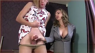 Mistress T milk her slaves