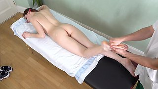 Massage from tricky boy relaxes client enough for sex