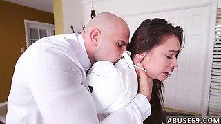 Extremely large tits and public hard Babysitters enjoy rock hard cock